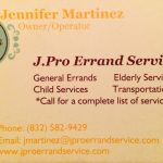 J.PRO ERRAND SERVICE
