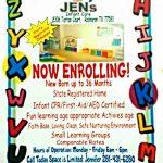 JEN's Infant Care