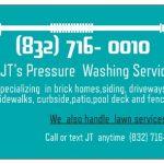 JT's PRESSURE WASHING SERVICES