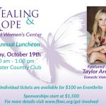 Healing & Hope Luncheon Featuring Taylor Armstrong