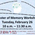 Master of Memory Workshop
