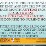 Crafters Outreach Benefiting Local Hospitals and Nursing Homes